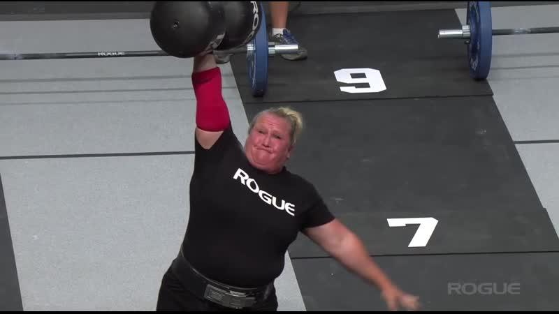 толчок 77-79 кг одной..дамой..