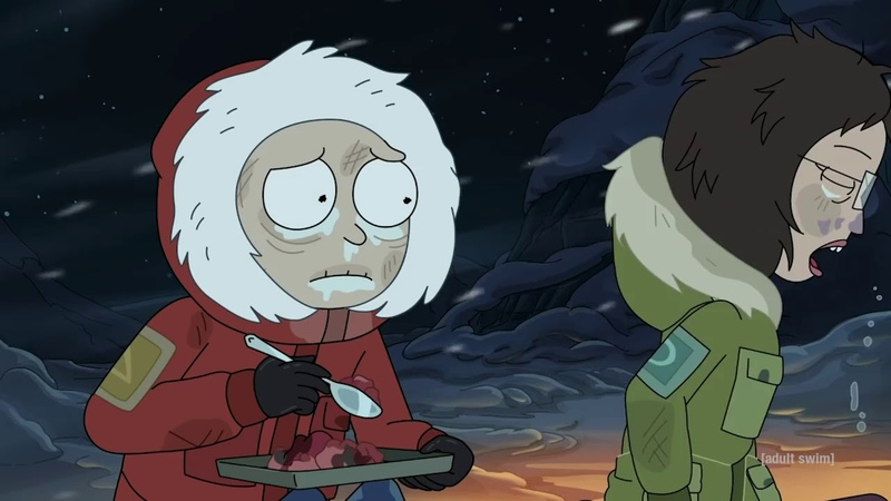 Морти проживает жизнь Rick and Morty