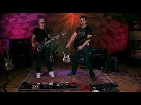 Guitar Lesson Joe Satriani - SatchZone (Effects Pedals)