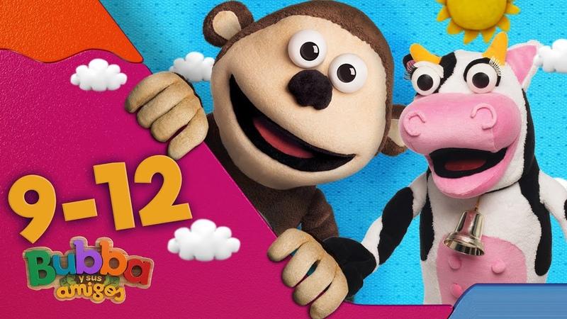 Mono Bubba y sus amigos Episodios 9 12 Videos infantiles