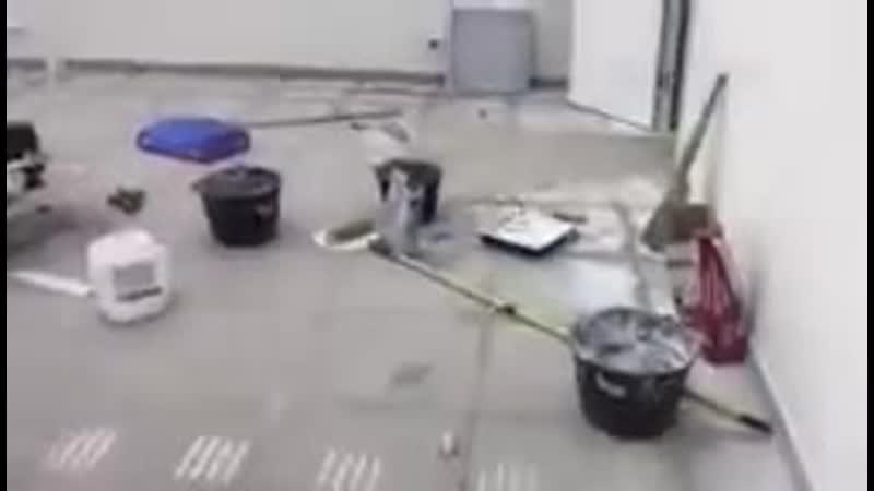 Процесс работы после ремонта
