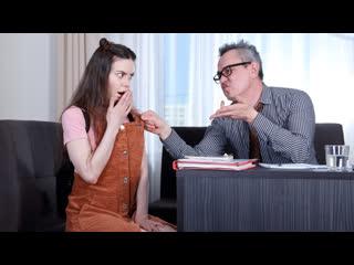 [LIL PRN] Tricky Old Teacher - Tina Grey - Ride a dick and pass a test  1080p Порно, Brunette, Fetish, Teen, Teacher