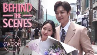 [Behind the Scenes] Lee Min-ho runs into Kim Go-eun's arms | The King: Eternal Monarch [ENG SUB]