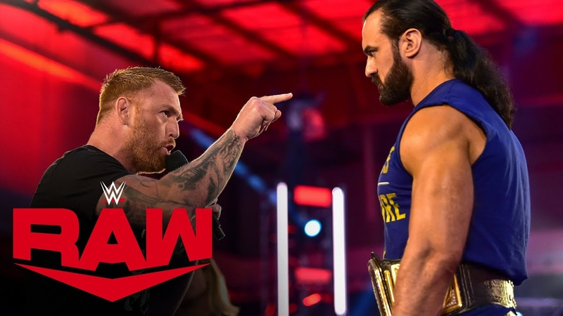 My1 Heath Slater returns to confront Drew McIntyre Raw July 6 2020