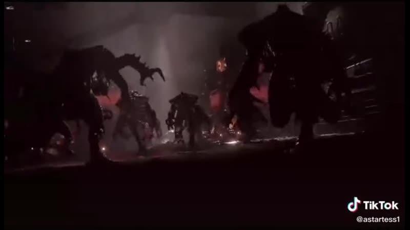 Тёмный ангел Воин первого легиона Гнева Императора Сын Льва