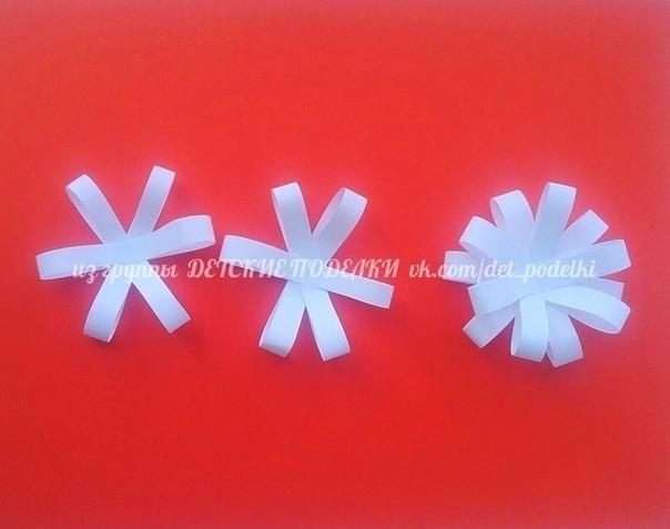 БУКЕТ РОМАШЕК бумага, пластилин и ватные палочки