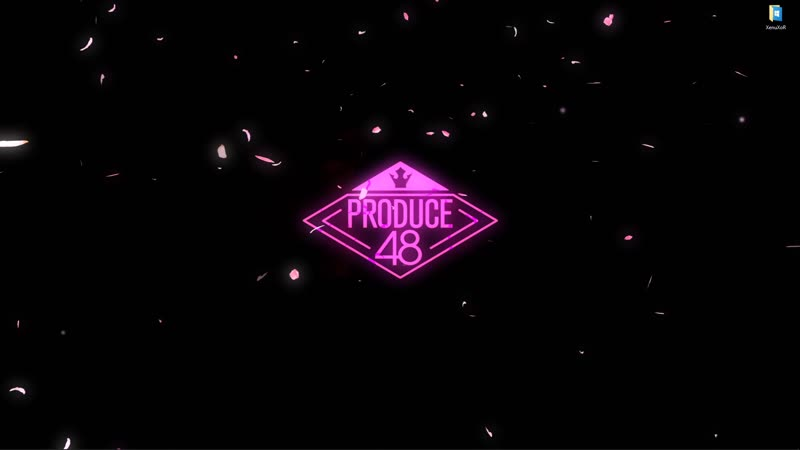 Логотип южнокорейского реалити-шоу Produce 48 - живые обои для Wallpaper Engine