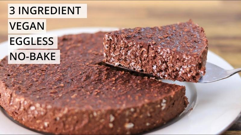 3 Ingredient Chocolate Oatmeal Cake Recipe