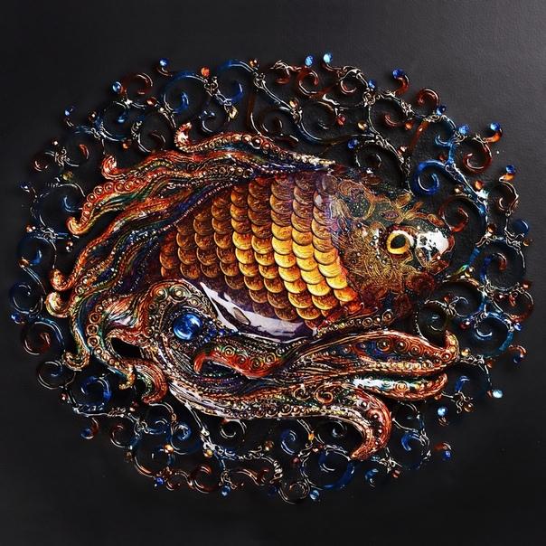 Эта золотая рыбка испoлняет самые заветные желания!