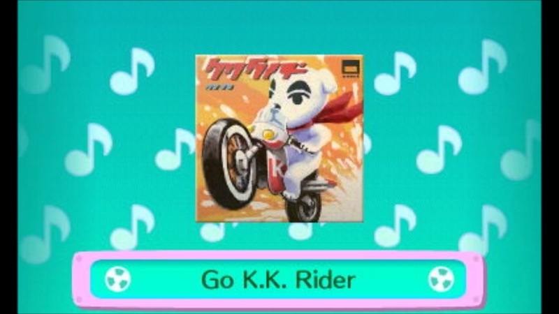Go K K Rider Aircheck Extended Animal Crossing