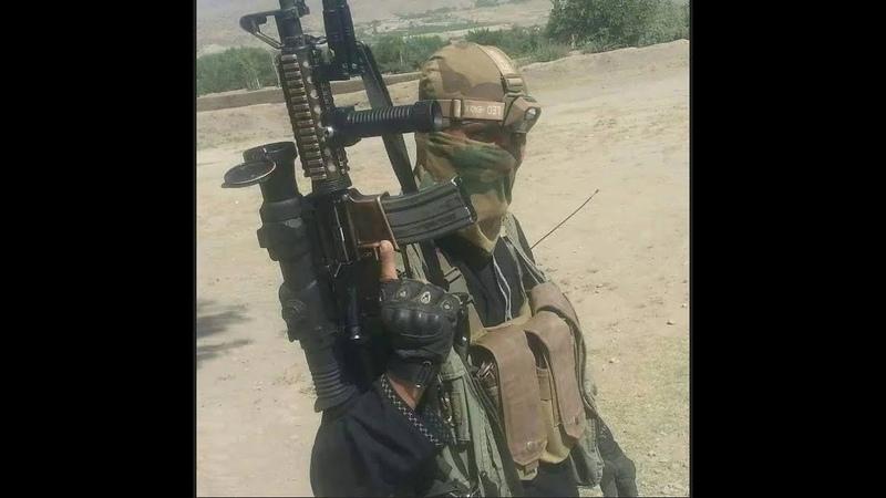 Снайпер Талибана с тепловизором и глушителем