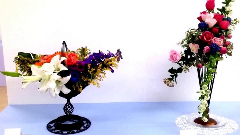 西日本華道連盟 第67回いけばな展 パートⅢ Ikebana Exhibition
