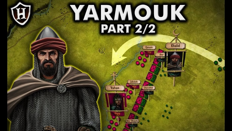 Battle of Yarmouk 636 Byzantine Rashidun Clash at Yarmouk