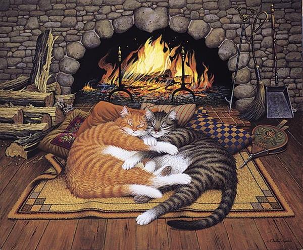 Чарльз Высоцкий популярный американский художник. Его работы, стилизующие американскую жизнь прошлых лет, можно встретить и на открытках, и в виде постеров. Pодился Чарльз Высоцкий 16 ноября