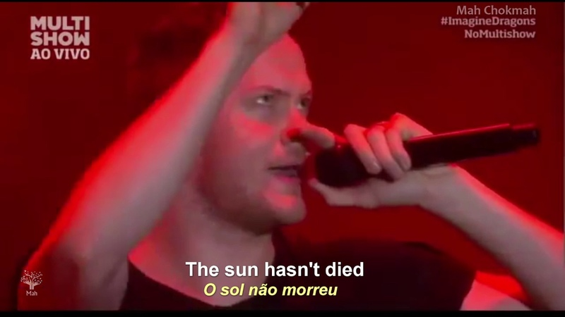 Imagine Dragons Radioactive Legendado Inglês Port HD