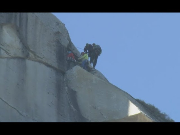 Tommy Caldwell and Kevin Jorgeson Climbers Reach Top at Yosemite