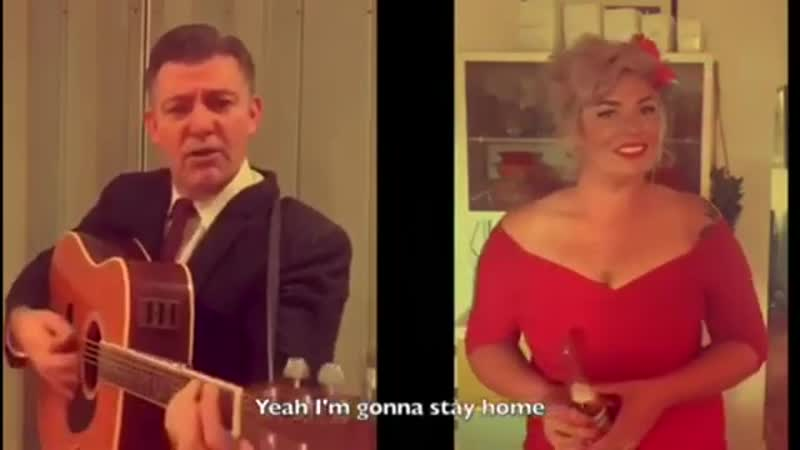 Stayin Home Cash style with Scotty Baker and Kitty Martini Australia