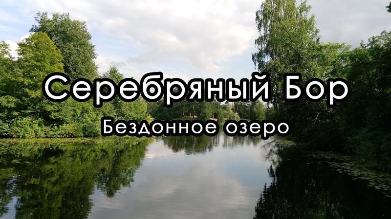 Прогулка вокруг Бездонного озера Серебряный Бор Август 2020