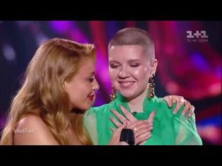 Ксения Буга  Плакала  выбор вслепую  Голос страны 10 сезон