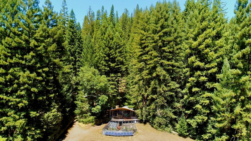 50 years off grid: architect maker paradise amid NorCal redwoods