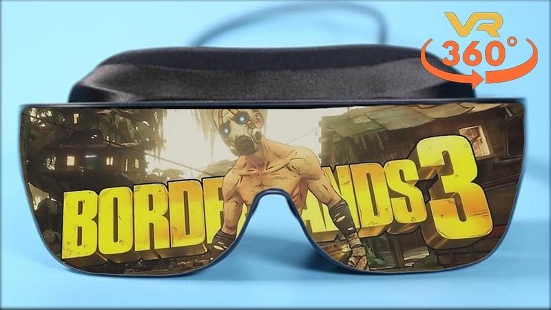 Borderlands 3 VR 360° 4K Virtual Reality Gameplay