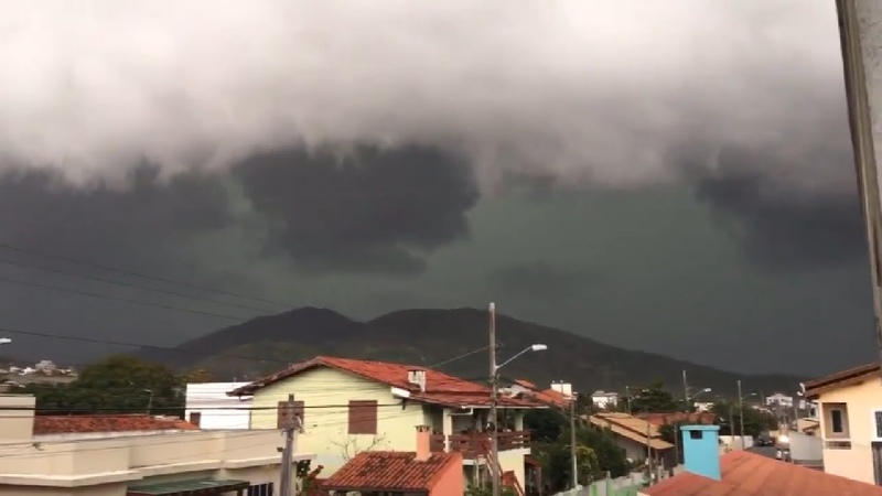 Extremely Powerful Bomb Cyclone Wreaks Havoc in Paraná, Santa Catarina, Rio Grande do Sul, Brazil