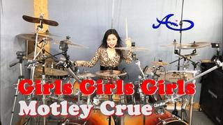Motley Crue - Girls, girls, girls drum cover by Ami Kim (#66)