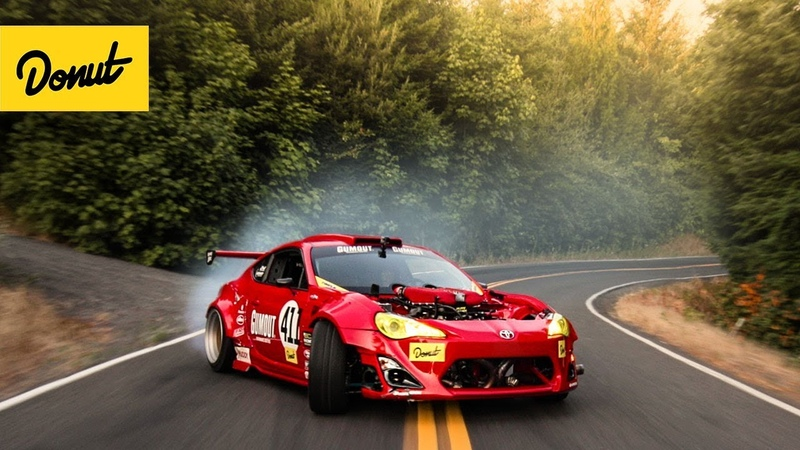 RIP GT 4586 Ferrari Powered Toyota drifts a Portland Touge
