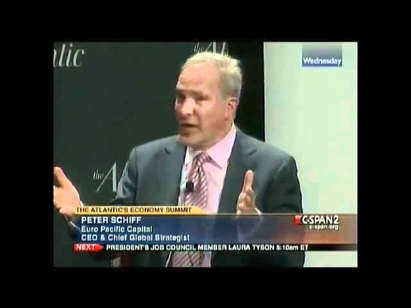 Peter Schiff Owning Everyones Ass on C-span