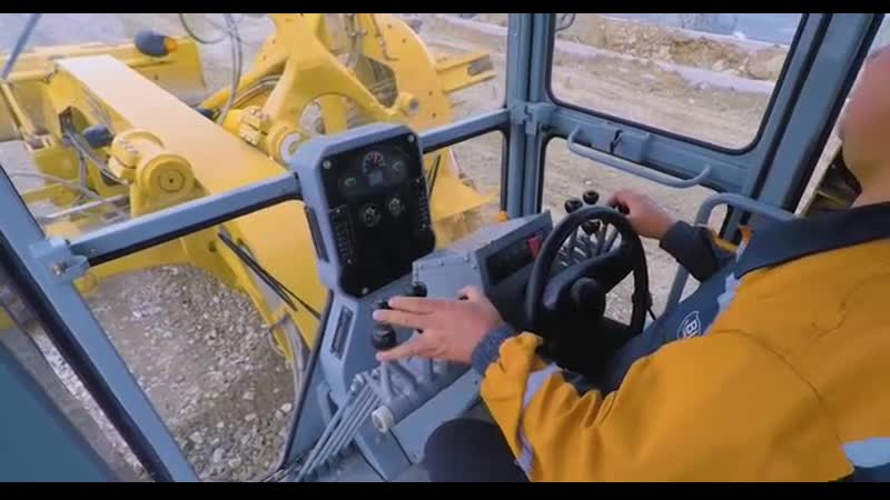 Автогрейдер SEM 922AWD ¦ Обзор возможностей модели.mp4