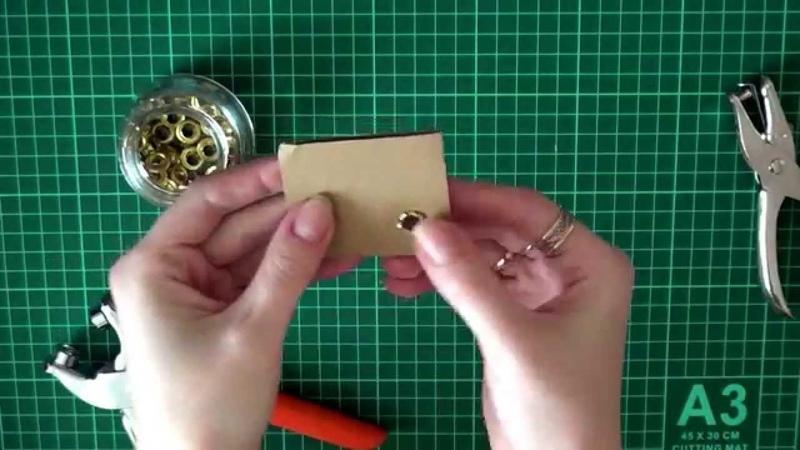 Как установить люверсы блочки без специальных инструментов