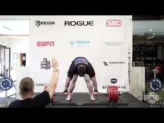 1хСтавка: Хафтор Бьёрнссон побил мировой рекорд в становой тяге