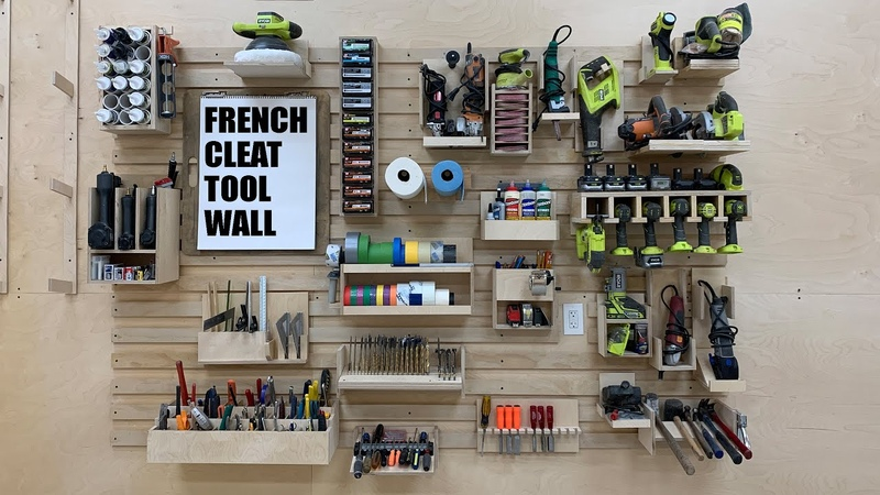 Ultimate French Cleat Tool Wall