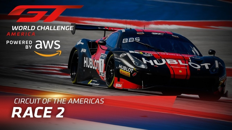 RACE 2 - GT WORLD CHALLENGE - COTA 2020-CBS