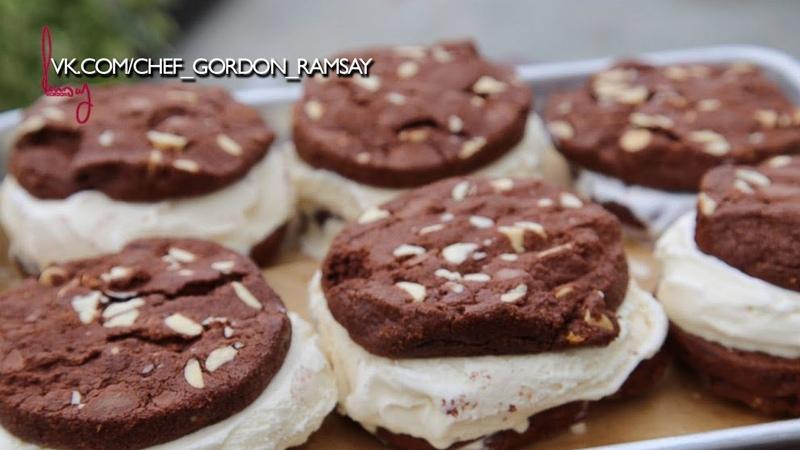 Шоколадное печенье сендвич от дочки гордона Рамзи Матильды