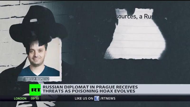 Pulp Fiction auf Tschechisch: Russischer Diplomat angeblich als Rizin-Killer unterwegs