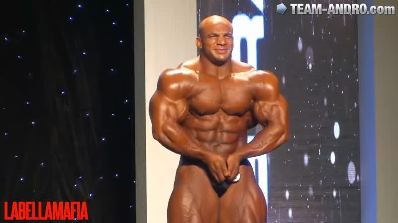 Arnold Classic Brazil 2015 - Big Ramy Posing