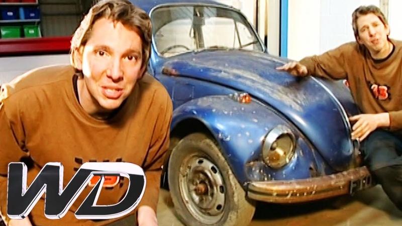 Edd Is Having A Smashing Time Pulling This VW Beetle Apart Wheeler Dealers
