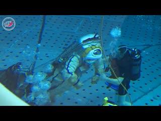 В обновленной гидролаборатории ЦПК отработали первую нештатную ситуацию