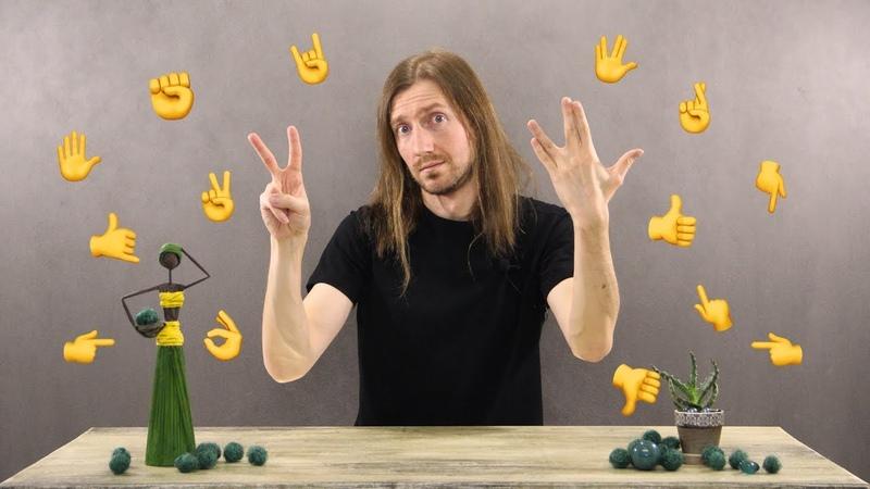 Танец жестов 80 уровня (Эмодзи караоке, челлендж 2020) Gesture challenge, emoji dance 80 level