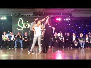 Swingtacular 2019 3-for-All Strictly - Jordan Frisbee, Samantha Buckwalter, Malia San Nicolas