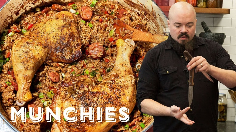 How To Make Cajun Jambalaya with Isaac Toups