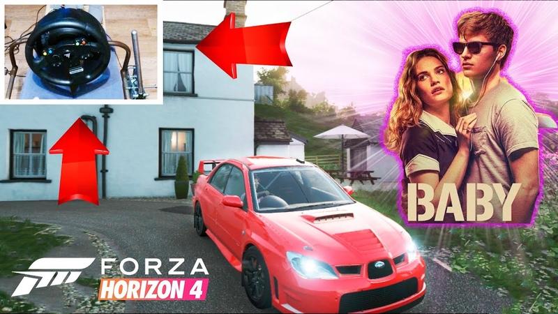 Forza Horizon 4 Малыш на драйве ThrustMaster TMX Gameplay