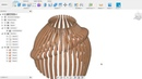 Уроки Fusion360: 3Dмоделирование абажура лампы. 3D modeling of a lampshade for cutting from plywood.