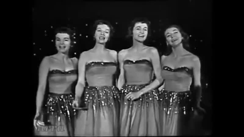 The Chordettes Mr Sandman Saturday Night Beech Nut Show 1958 02 22