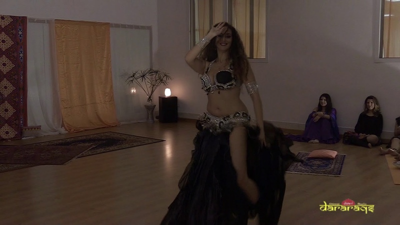 Francesca belly dancer - Improvisation @ Dararaqs school in Mestre (Oct 17)