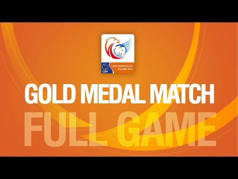 Germany vs Russia Gold Medal Match LOTTO EUROVOLLEY POLAND 2017