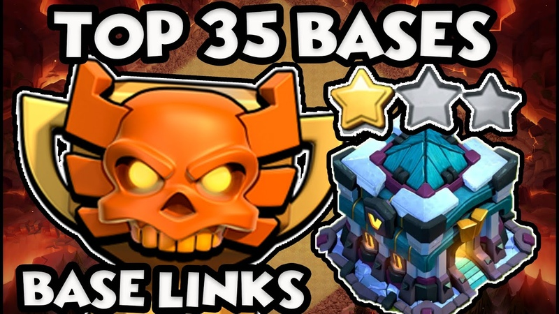 TOP 35 BEST TH13 WAR BASES WITH LINKS -TOWN HALL 13 CWL WAR TROPHY BASES WITH LINKS COC 2020