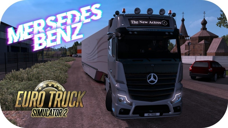 ETS2 1.37 Mods | Mercedes Benz Actros MP5 | Aerodynamic Trailer