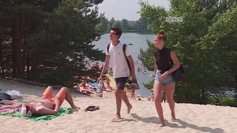 Установились жаркие дни и люди стремятся провести время вблизи водоемов.